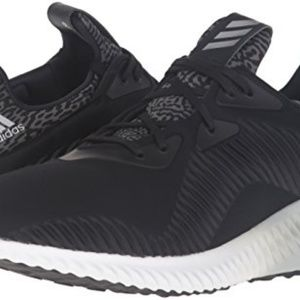 NEW ADIDAS ALPHABOUNCE BLACK/SILVER MEN'S 13